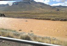 Photo of Puno: Nuevamente río Chacapalca – Hatun ayllu de color amarillento. Acusan a minera Aruntani.
