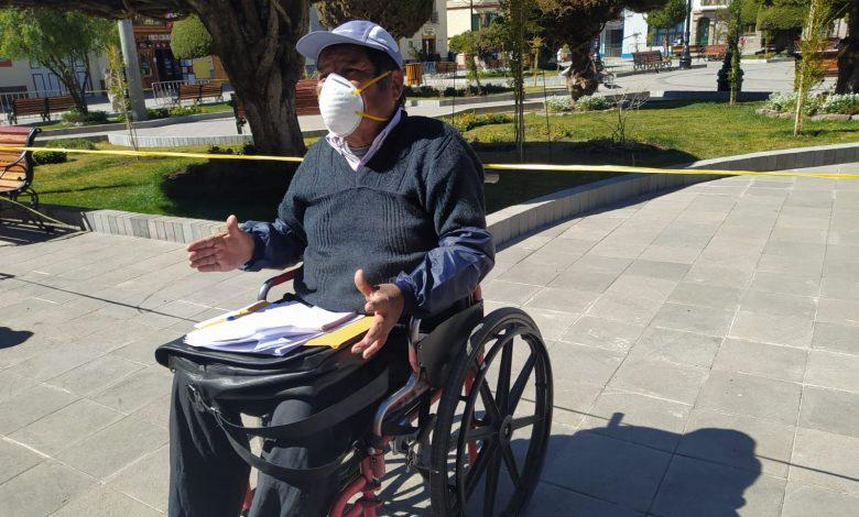 Photo of Piden que se pronuncie la Ministra de la Mujer ¡Somos el sector más vulnerable!, ¡no recibimos ningún tipo de ayuda para enfrentar la pandemia!, federación departamental de discapacitados de puno