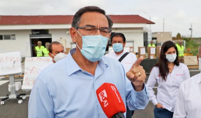 Photo of Vizcarra anuncia uso de un avión para trasladar pacientes COVID-19 de Arequipa a Lima