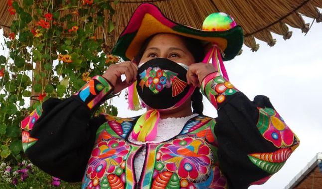 Photo of Puno: mujeres artesanas emprenden con mascarillas inspiradas en motivos andinos