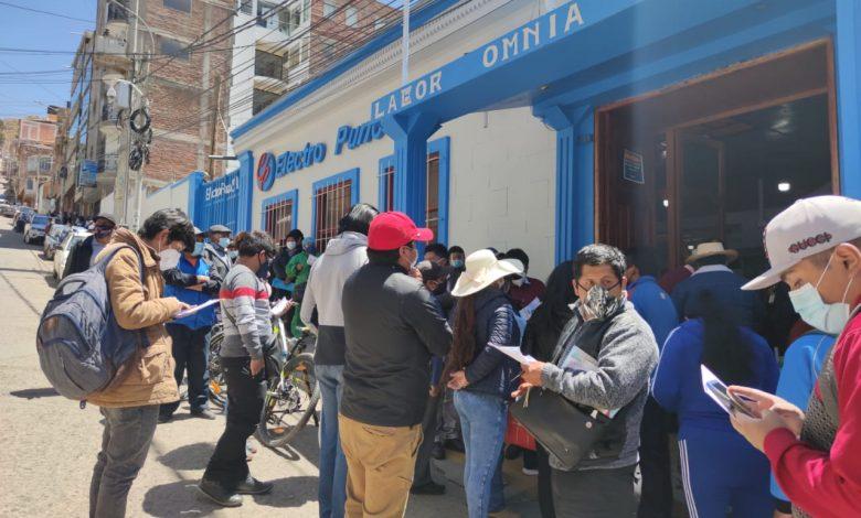 Photo of Puno y Juliaca en protesta contra los excesivos cobros del servicio de electricidad, anuncian paros en toda la región