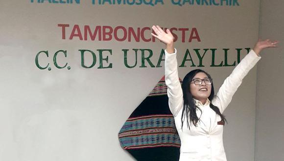 Photo of Puno: joven nutricionista defiende su tesis desde el tambo Ura Ayllu