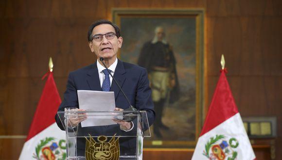 Photo of Martín Vizcarra ofrece mensaje a la nación tras difusión de audios I En Vivo