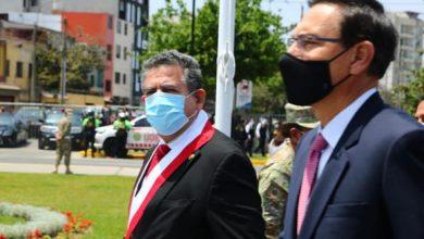 Photo of Martín Vizcarra y Manuel Merino se reencontraron tras crisis política en Pueblo Libre