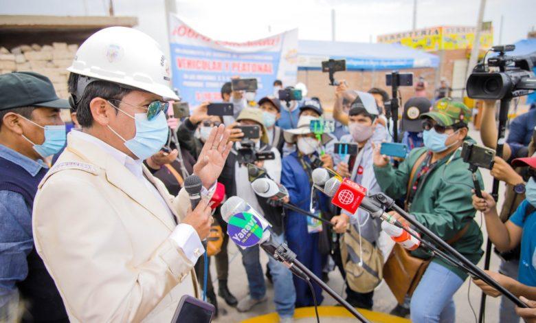 """Photo of Gobernador de Arequipa: """"quiero comunicar al pueblo de Arequipa que declino mi candidatura a la presidencia del Perú"""""""