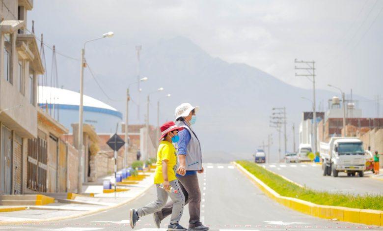 Photo of Gobierno regional de Arequipa entregó moderna vía que beneficiará a 20 mil pobladores del Cono Norte
