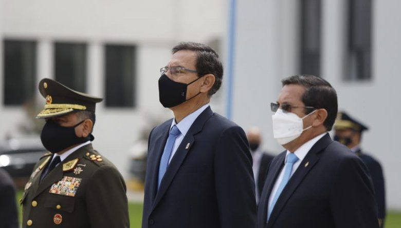 """Photo of Presidente Vizcarra: """"hay fuerzas que buscan perturbar la marcha del país"""""""