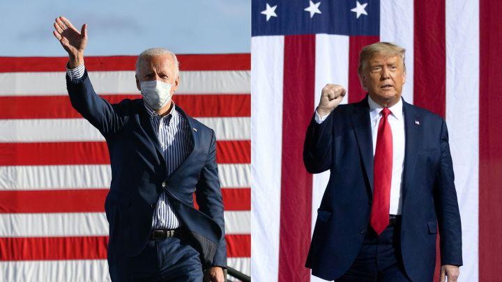 """Photo of Donald Trump ya habla de fraude en los comicios, mientras Joe Biden quiere contar """"cada voto"""""""