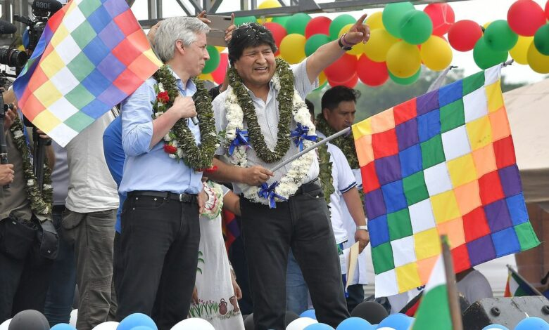 """Photo of Evo Morales afirma que Pedro Castillo """"tiene un programa similar"""" al suyo en Bolivia"""