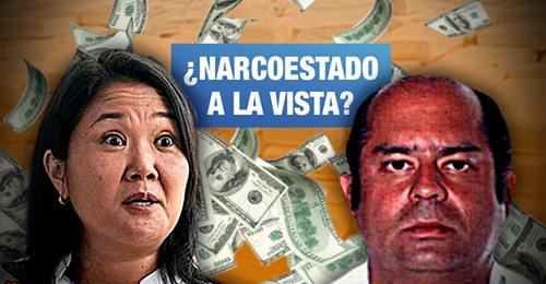 Photo of Fiscal pide prisión para Keiko porque también recibió aporte de narcotraficante