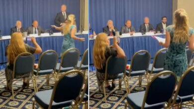 Photo of Investigadora enfrenta  a delegación Fujimorista en la OEA y los llama «Golpistas»