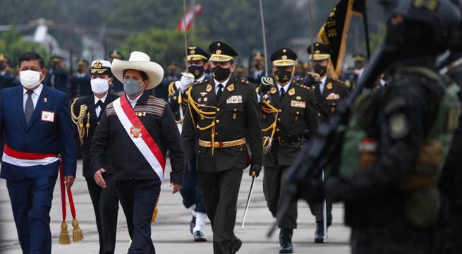 Photo of Mandatario Pedro Castillo es reconocido como jefe supremo de las FF. AA. y PNP
