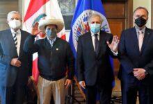 Photo of Pedro Castillo ante la OEA: «En el Perú tenemos corruptos hasta para exportar»