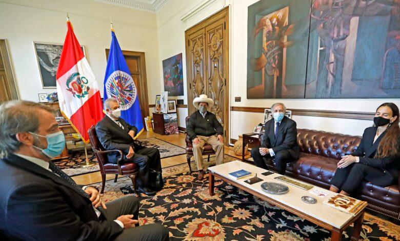 """Photo of Castillo a empresarios de EE.UU: """"Los llamo a invertir en Perú sin desconfianza"""""""
