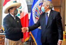 """Photo of Secretario general de la OEA, Luis Almagro, sobre discurso de Pedro Castillo: """"Ha sido excepcional"""""""