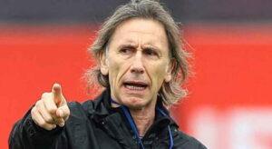 DT. Ricardo Gareca de la selección Peruana