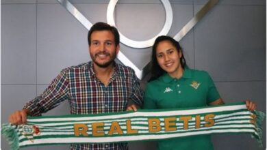 Photo of Pierina Núñez firma contrato por el Real Betis Féminas de España