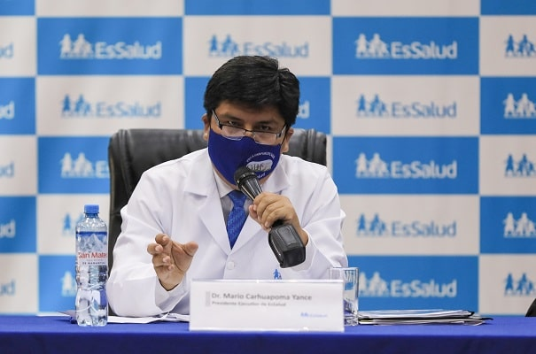 Photo of Mario Carhuapoma descarta renunciar a la presidencia ejecutiva de EsSalud
