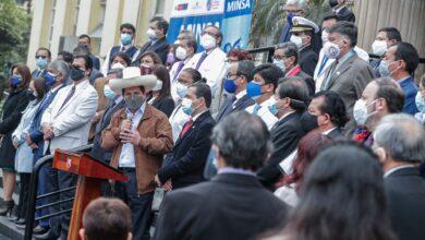 Photo of Presidente Castillo expresa su gratitud y reconocimiento al personal de salud
